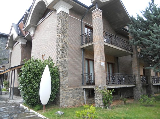 RV Hotel Condes Del Pallars: Esta es la parte nueva