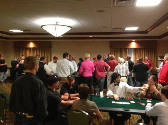 Hilton Garden Inn Indianapolis Airport: Casino Night!