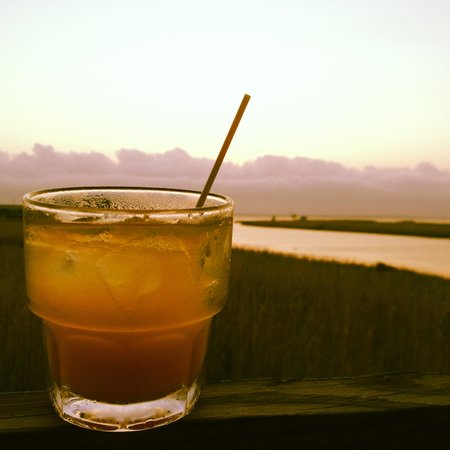 Original Oyster House: Drink with a view!!