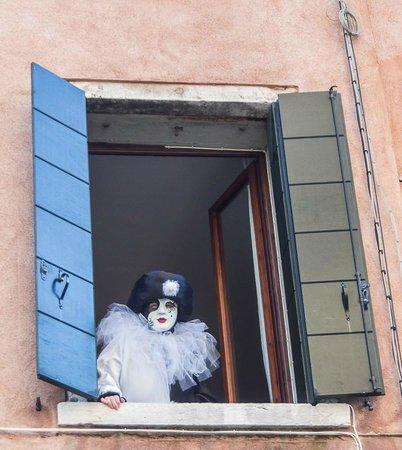 Al Teatro Bed & Breakfast: Our room window