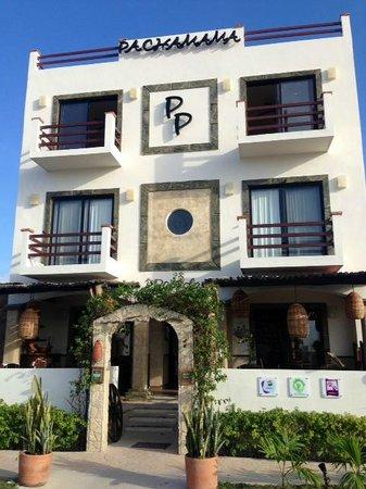 Posada Pachamama: Hotel en el dia