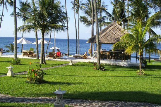 Kubu Indah Dive & Spa Resort: La plage
