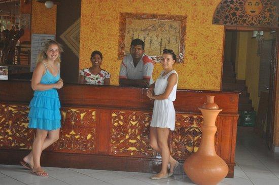 Eva Lanka Hotel: Ресепшен.