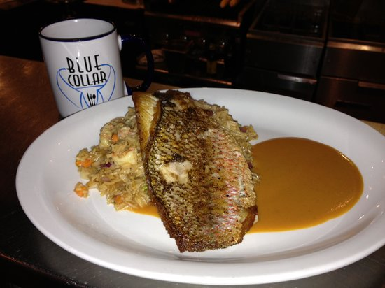 Blue Collar : Red Snapper to die for !!