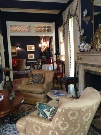 Living Room, Ballastone Inn