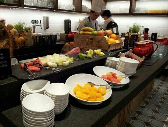 Kempinski Hotel Corvinus Budapest: Delicious n fresh Breakfast