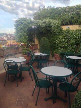 Hotel Hermitage: Roof garden