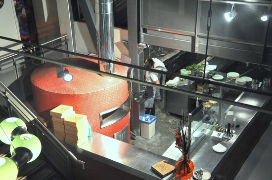 Zerodegrees - Cardiff: a view from the 2nd floor of the oven