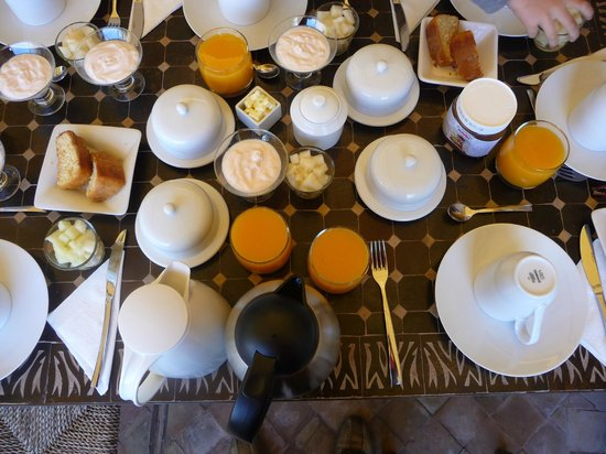 Riad Vanilla sma: Mas desayuno