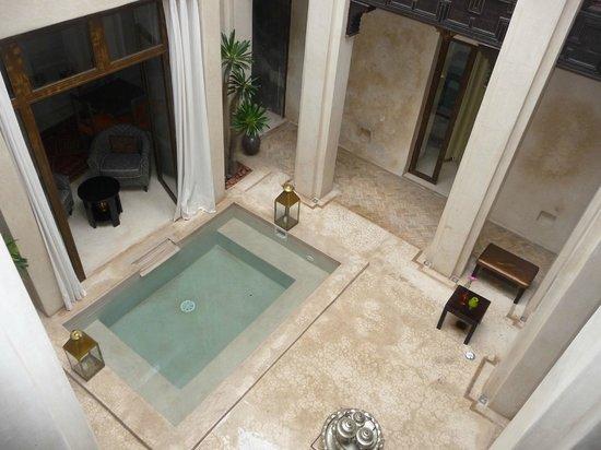 Riad Vanilla sma: Patio del hotel