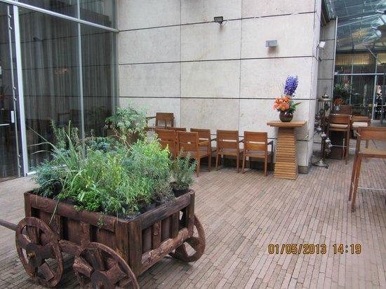 JW Marriott Hotel Bogota: im Hinterhof