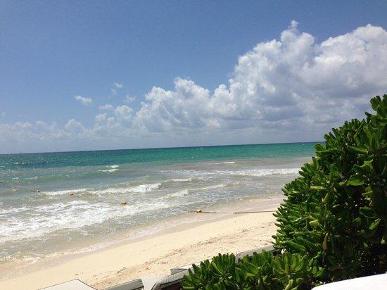 Rosewood Mayakobá: the beach