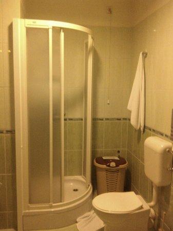 Hotel Astra Garni: Clean bathroom