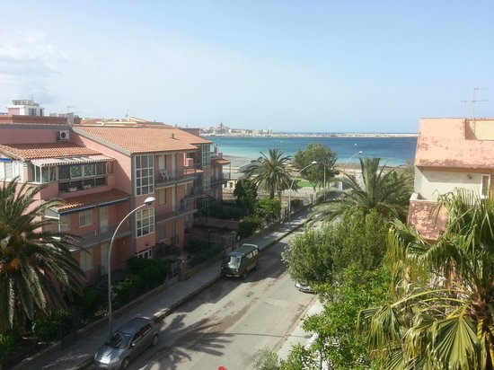 Hotel Riviera : vue de la chambre 291