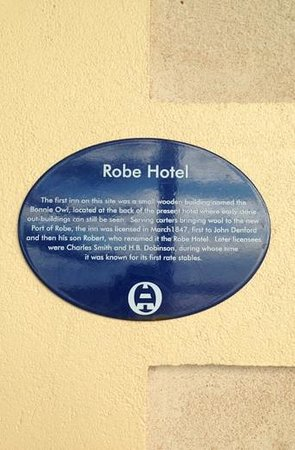 Robe Hotel : A piece of history