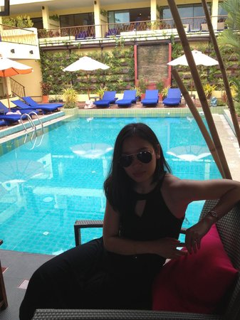 CC's Hideaway: the pool was sooo relaxing!  Dip in it as soon as you get up in the morning...