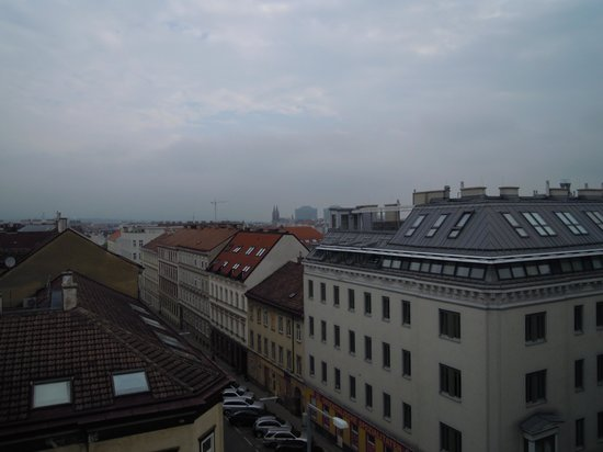 Hotel Atlantis Vienna: Vista desde la habitacion