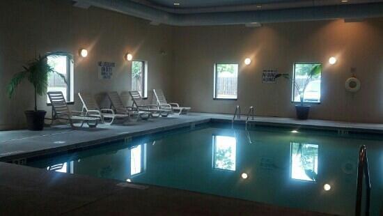 Hawthorn Suites by Wyndham Charleston : indoor pool