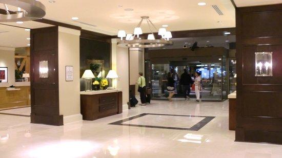 Sheraton Seattle Hotel: Recepcion