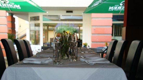 Gabriel's Cucina: Blick auf die Terrasse