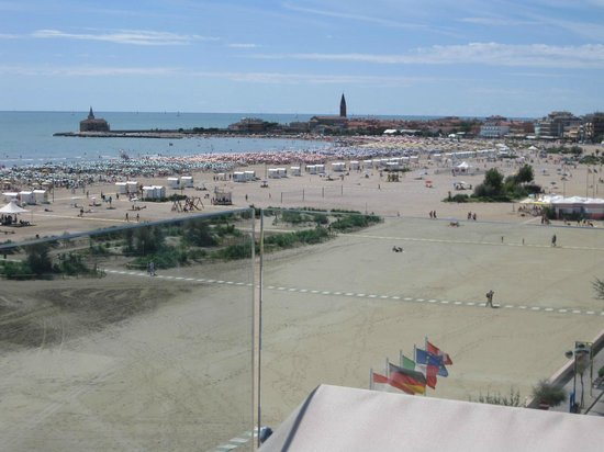 Hotel Monaco : View of Caorle and the coast
