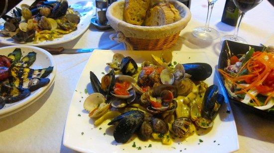 Scaliatelli with seafood at Il Terzo Girone, Piano di Sorrento