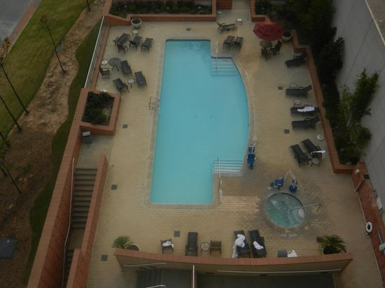 View Of Pool From Balcony Picture Of The Woodlands