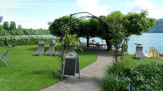 Hotel Seegasthof Stadler: Schöner Garten