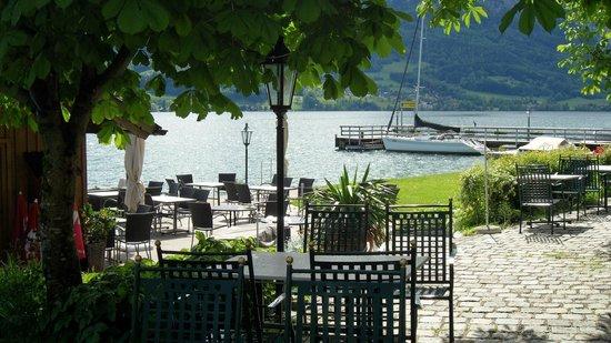 Hotel Seegasthof Stadler: Wunderschöne Terrasse