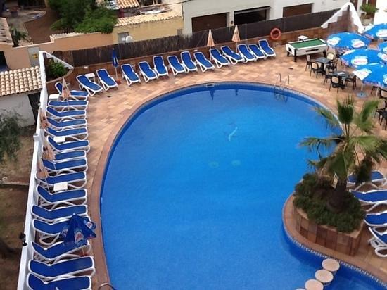 Hotel Clumba: Blick vom Balkon im 3.OG