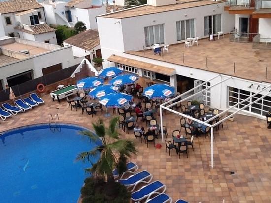 Hotel Clumba: Blick vom Balkon