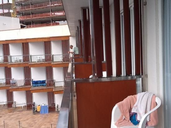 Hotel Clumba: Blick zu den Nachbarn