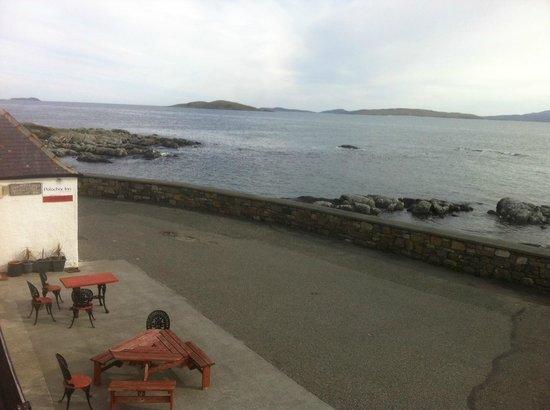 Polochar Inn: View from Inn towards Barra