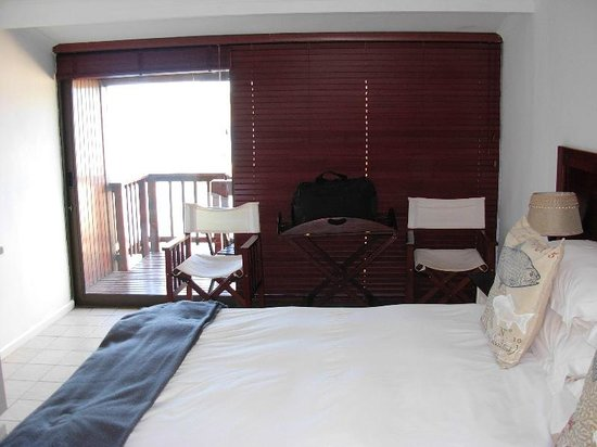 The Breede River Resort and Fishing Lodge: Cabin room with private balcony
