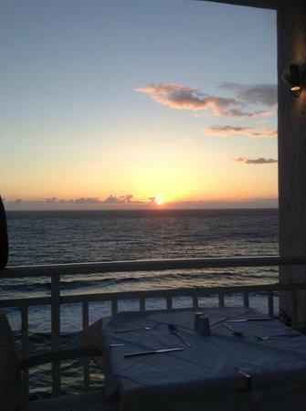 Mayor La Grotta Verde Grand Resort: sunset from dining room