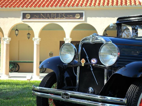 Naples Car Show >> Annual Naples Depot Antique Auto Show Picture Of Naples