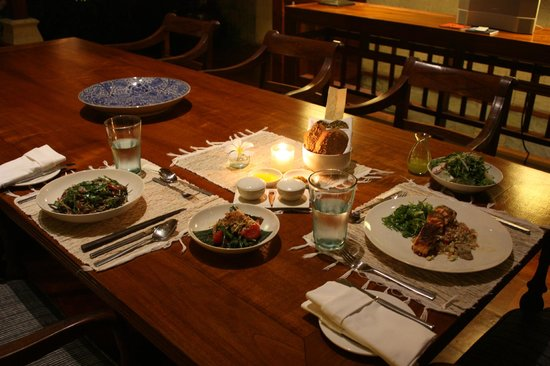 COMO Shambhala Estate: Private Dining in our Residence