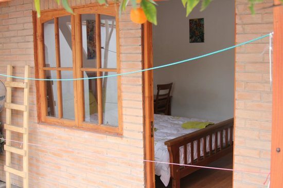 Ventana Sur Hostel: Bedroom Bungalow Garden  View (Private bathroom)