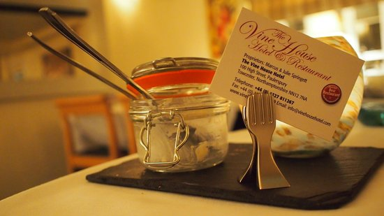 Vine House Hotel and Restaurant: Desert After