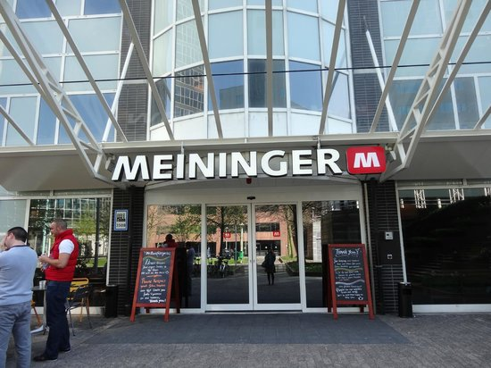 MEININGER Hotel Amsterdam City West: ホテル正面
