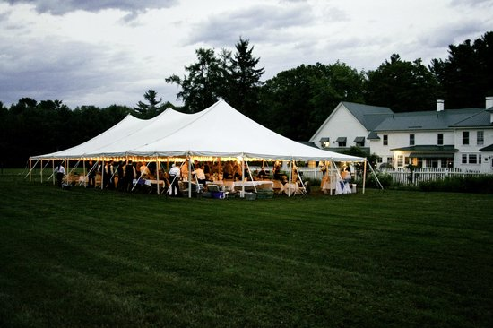 Greenwood Manor Inn: your tent wedding