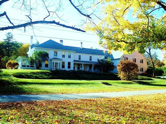 Greenwood Manor Inn: Autumn leaves