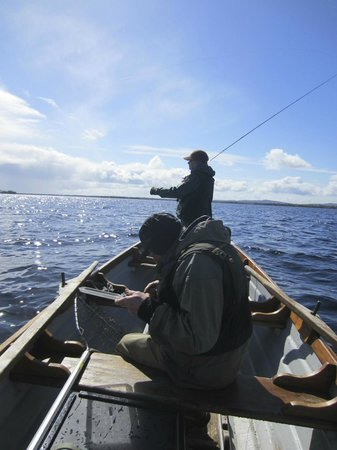 Corrib View Lodge : Fishing on Lough Corrib