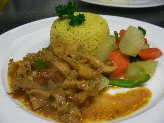 Big Citi Grill : Curry Conch