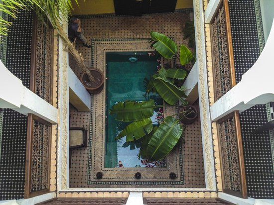 Riad Aguaviva : Top view