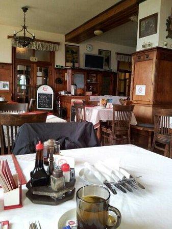 Schafbergspitze Hotel: Restaurant