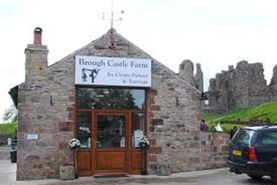 Brough Castle Ice Cream Parlour