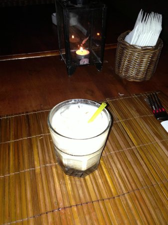 The Rooftop Lounge: White russian