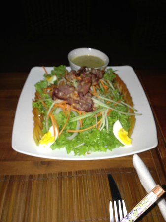 The Rooftop Lounge: Nick's salad