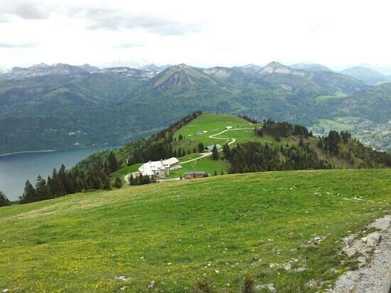 Schafbergspitze Hotel: Beautiful mountain views